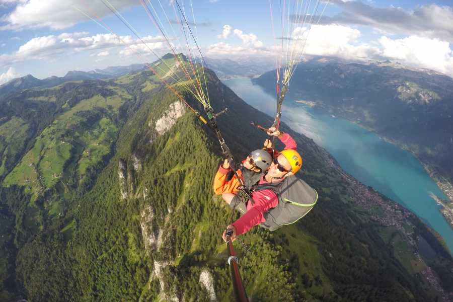 "Paragliding Interlaken GmbH Paragliding ""Sunset"""