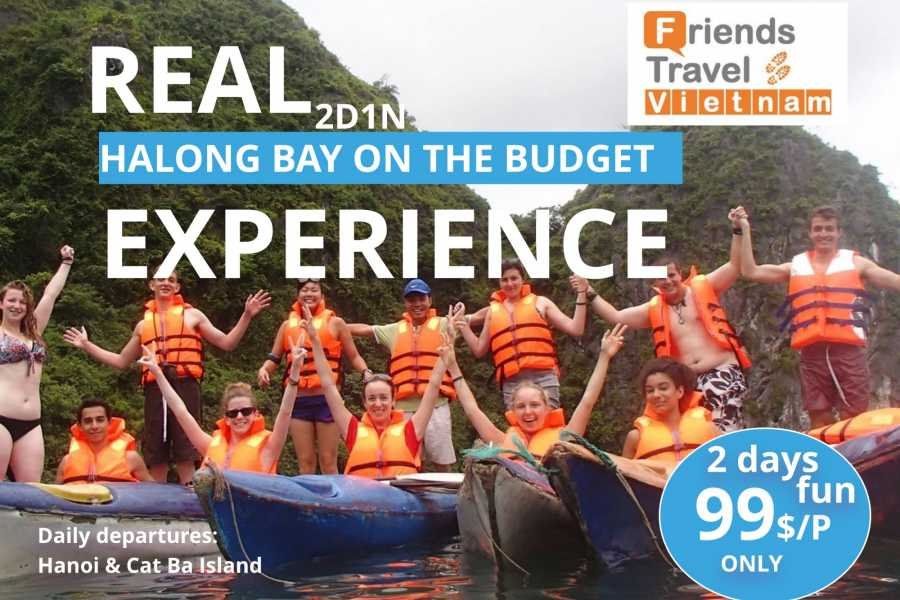 Friends Travel Vietnam Real Halong Bay Experience on a budget 2D1N - depart from Cat Ba