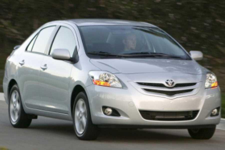 Pura Vida Casas Adventures Zoom Rental Car: Sedan Toyota Yaris 5 pax