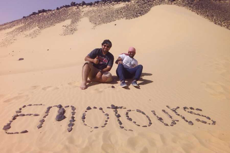 EMO TOURS EGYPT cheap trip to white and black desert from cairo