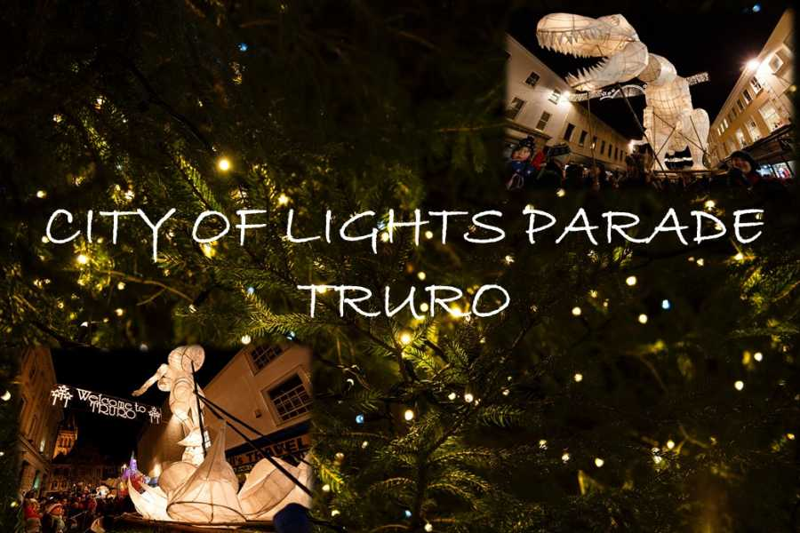 Oates Travel St Ives CITY OF LIGHTS PARADE TRURO - WEDNESDAY 21st NOVEMBER