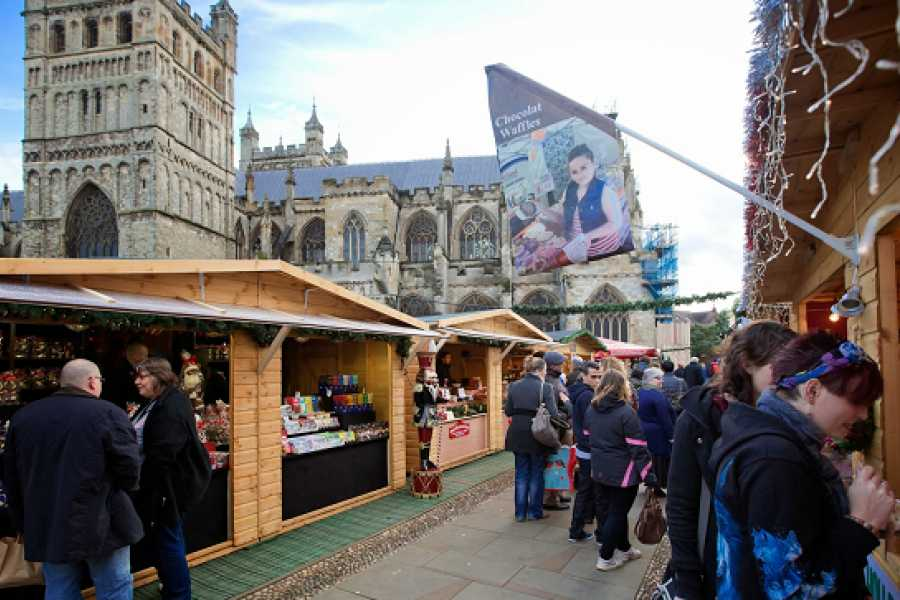 Oates Travel St Ives EXETER CHRISTMAS MARKET 2018