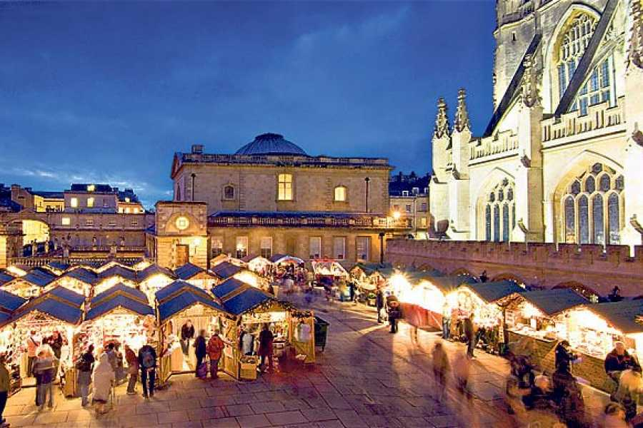 Oates Travel St Ives BATH CHRISTMAS MARKET 2019