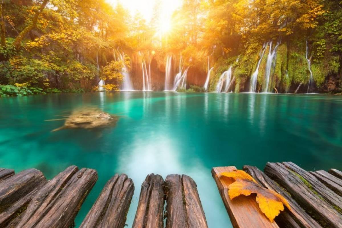 Degenija Tours Plitvice Lakes 4h tour with panoramic boat ride