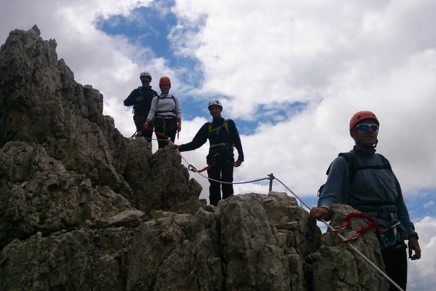 TRAVELSPORT Outdoor Activities FERRATA DEGLI ALPINI AL COL DEI BOS