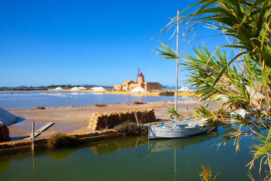 Travel Taste Sicily by Egatour Viaggi Saline di Marsala e Visita in Cantina