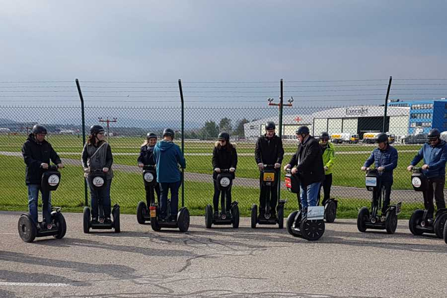 Segway City Tours by HB-Adventure Zurich Airport Tour with Segways or E-Scooters