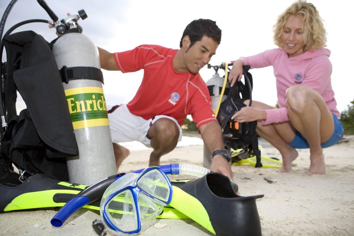 Marina Blue Haiti PADI Enriched Air (Nitrox) Diver (Practical part)