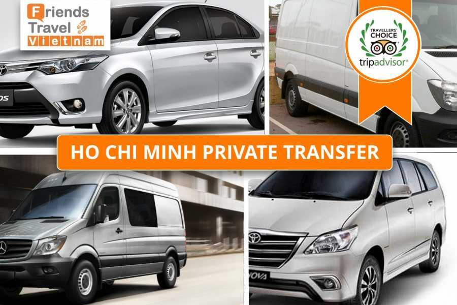 Friends Travel Vietnam Ho Chi Minh Private Transportation