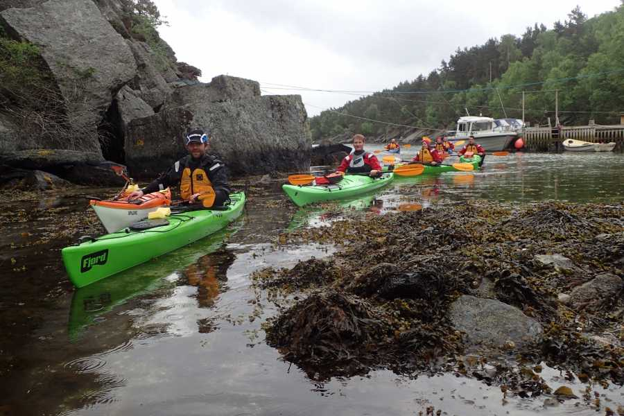Rogaland Aktiv as Full day kayak tour, explore the fjords