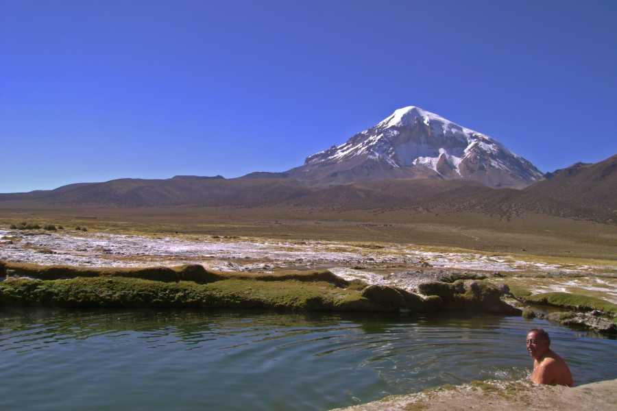 Late Bolivia SAJAMA NATIONAL PARK