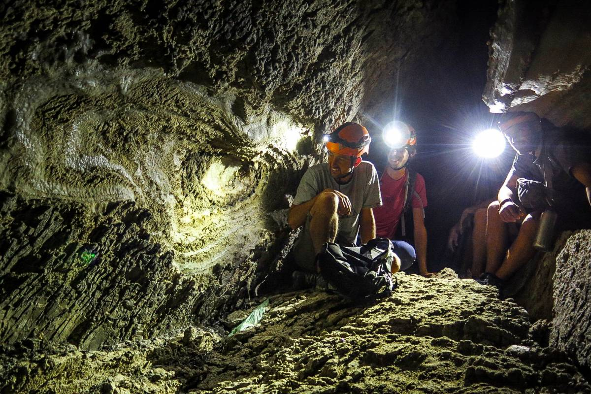 Wild-Trails Salt Caving in the Dead Sea (Daily Tour)