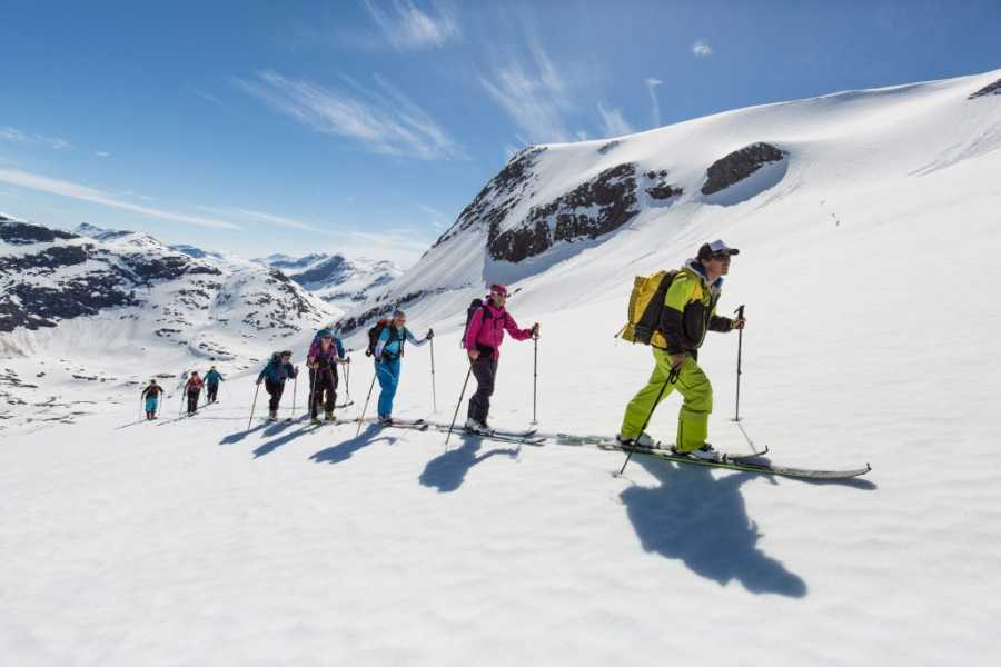 Hotel Aak Guided Ski Touring in Romsdalen