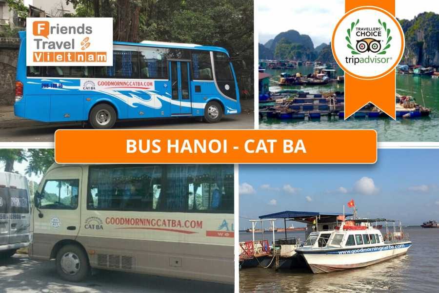 Friends Travel Vietnam Bus Tickets Hanoi - Cat Ba
