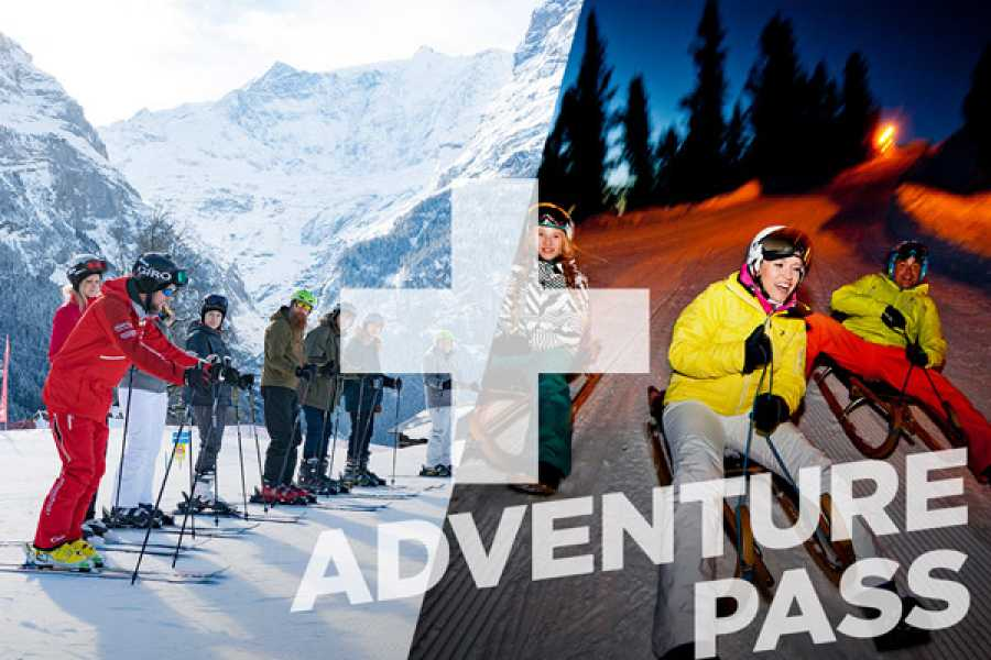 Outdoor Interlaken AG 1 Day Beginner Package + Sledding