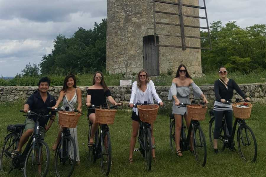 Rustic Vines Bike-Electric Saint-Emilion Half Day
