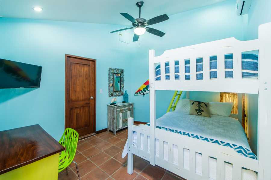 Kelly's Costa Rica Beachy Bunk Room