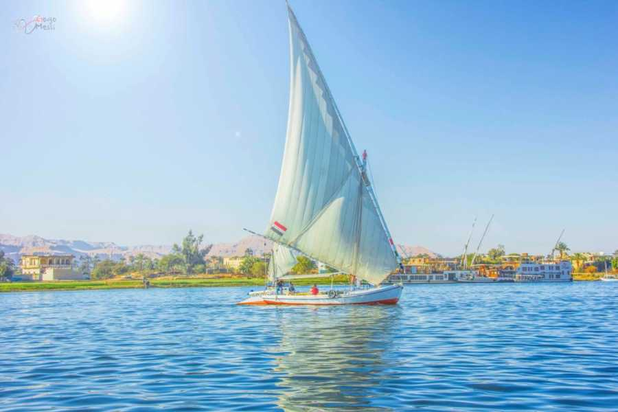 Journey To Egypt Luxor Nile Felucca Tours