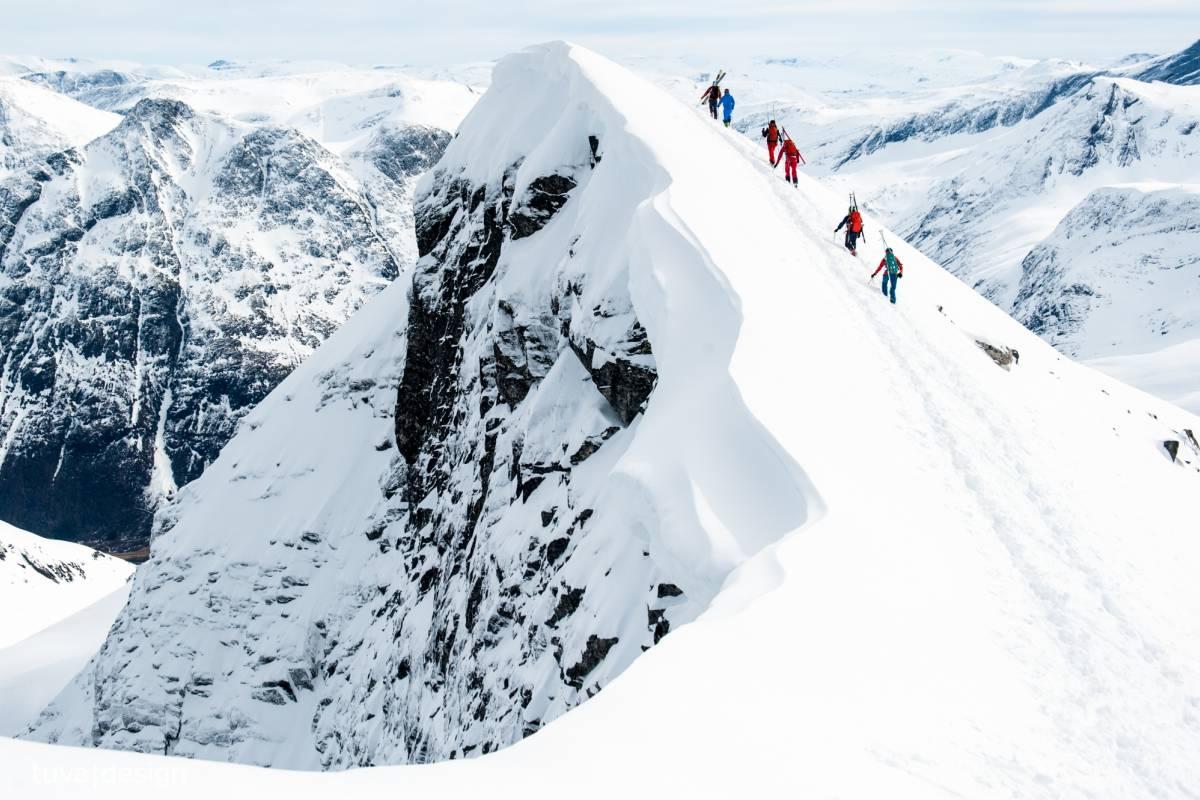 Contrast Adventure Norway Toppturkurs i Sunndalsfjella
