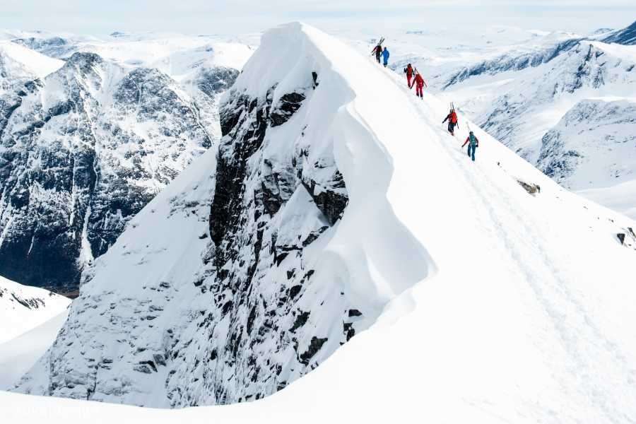 Contrast Adventure Norway Backcountry Ski Course in the Sunndal Mountains