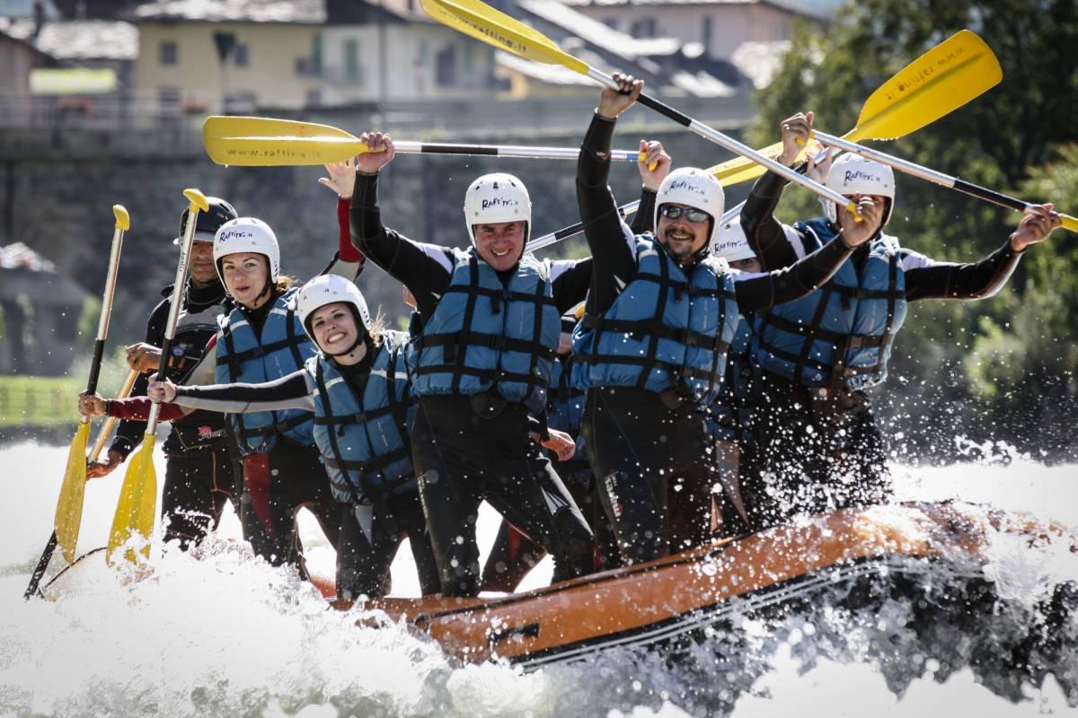 Rafting.it Rafting familles Intégrale 4Pax