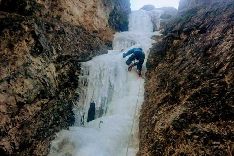 TRAVELSPORT Outdoor Activities ICE CLIMBING A SAPPADA