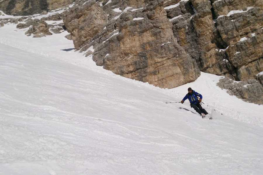 TRAVELSPORT Outdoor Activities VALLON DI TOFANA - SCIALPINISMO DOLO...MITICO!