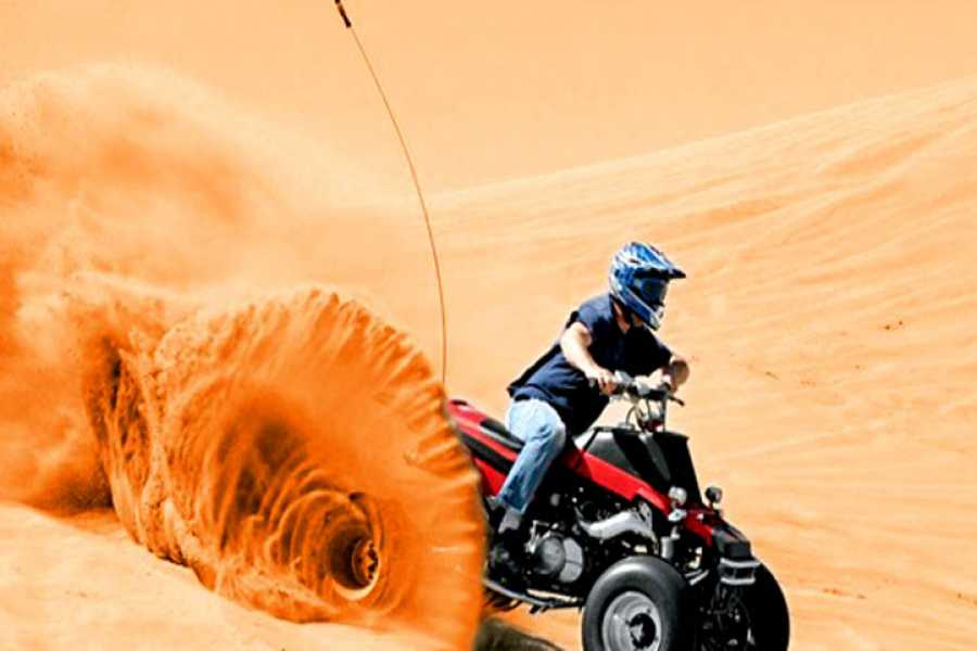 Marsa alam tours Privater Morgen Quad-Safari-Tour von Hurghada aus
