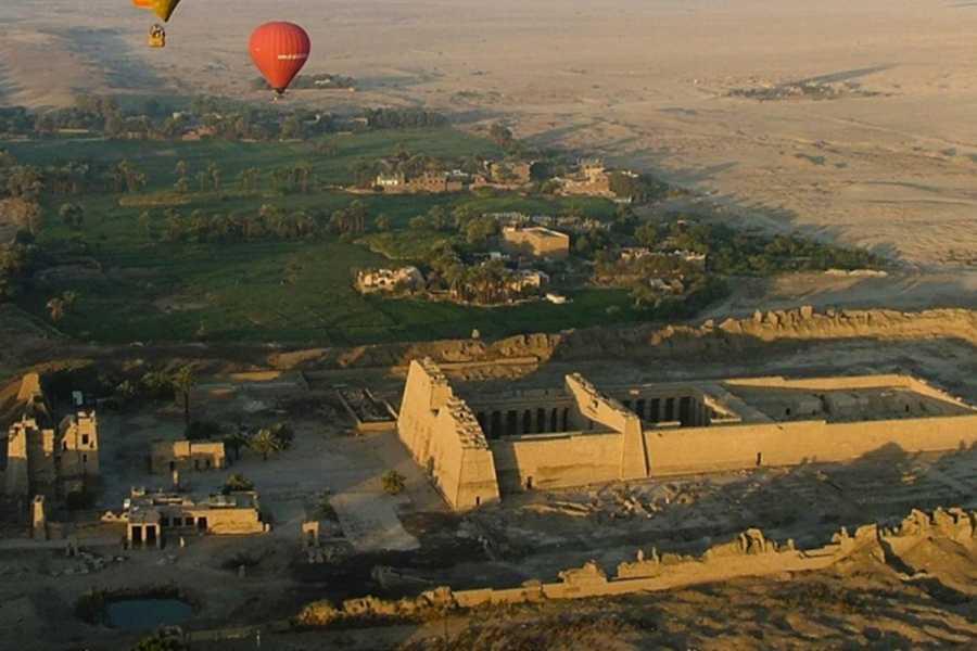 Marsa alam tours Luxor 2-tägige Tour von Port Ghalib mit Heißluftballon