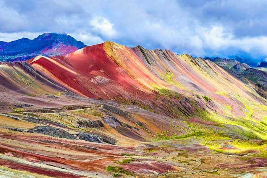 Conde Travel Vinicunca 7 Color Rainbow Mountain Full-Day Hiking Tour