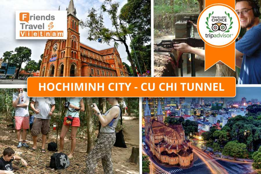 Friends Travel Vietnam Ho Chi Minh City - Cu Chi Tunnel (Private Day Tour)