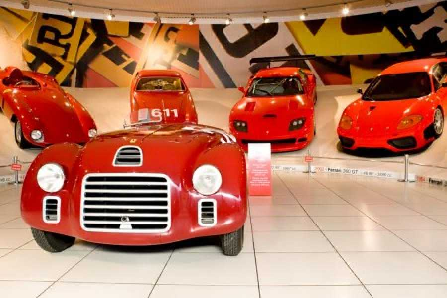 ACCORD Italy Smart Tours & Experiences FERRARI: LEAVING THE FAST LANE -BUS TRIP TO MARANELLO