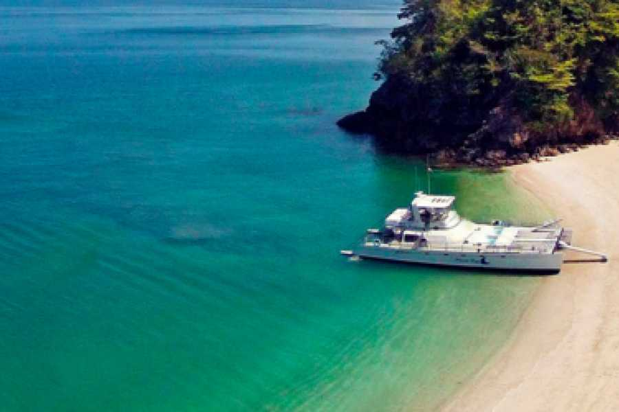 Pura Vida Casas Adventures TORTUGA ISLAND CATAMARAN DAY TOUR