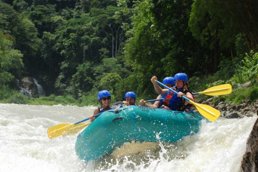 Pura Vida Casas Adventures Half Day Rafting Tours: Lower Naranjo River