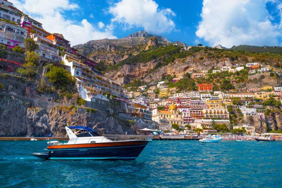 Feeling Italy Concierge Boat/Motor Cruiser. The Amalfi Coast - Positano & Amalfi - (max 12 people)