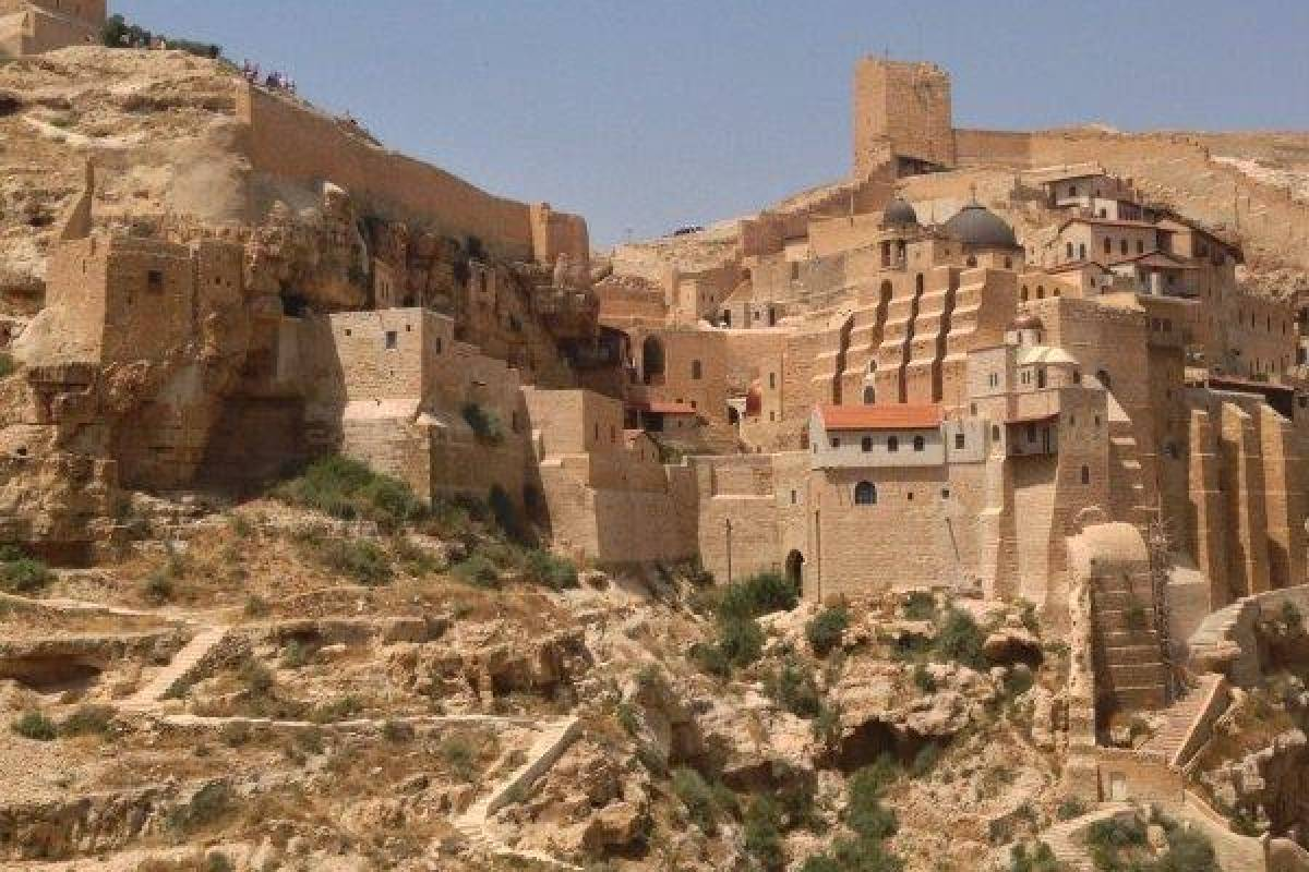 Siraj Center Saturday 3 February 2018, Mar Saba to Tel-AlQamar