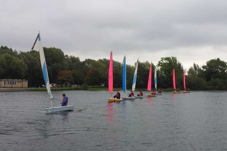 South Cerney Outdoor RYA Junior Sailing Stage 3