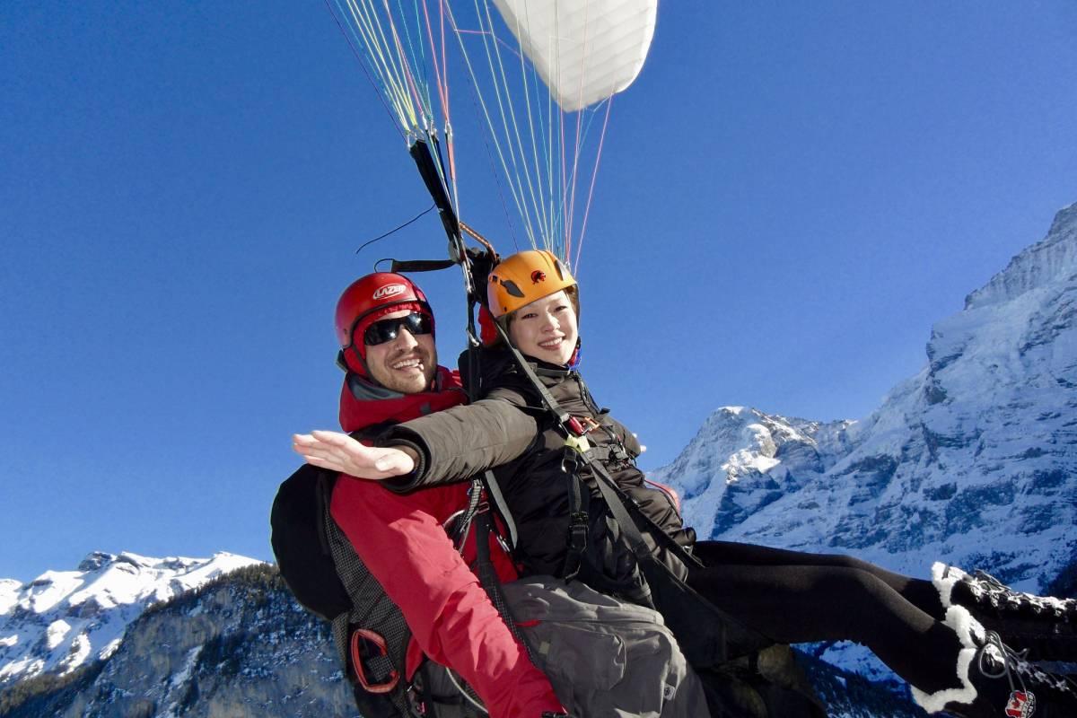 Swiss Paragliding & Adventure GmbH Paragliding Schilthorn - Stechelberg