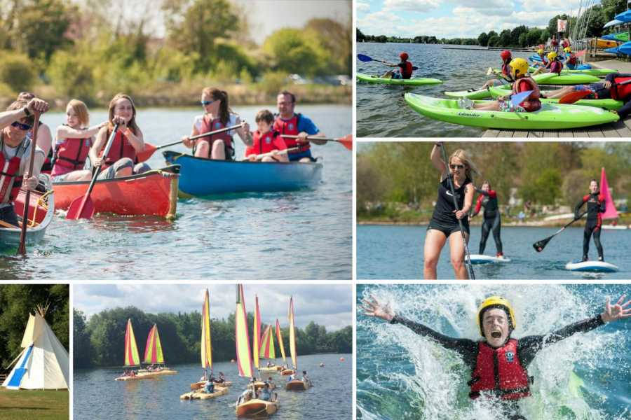 South Cerney Outdoor 3hr Play & Paddle - Canoe, Kayak and SUP (Save 40%)