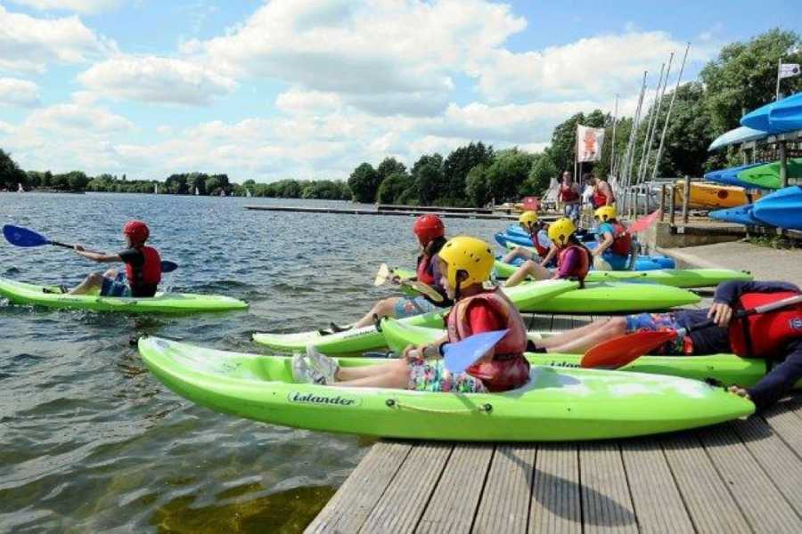 South Cerney Outdoor British Canoeing Junior Paddlepower Discover Part 1 Canoe & Kayak Course