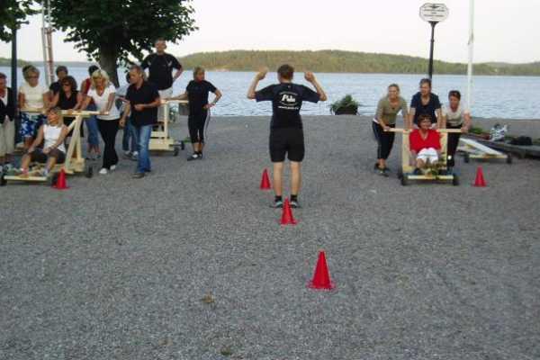 Puls Camp Åre Lådbilsbygge