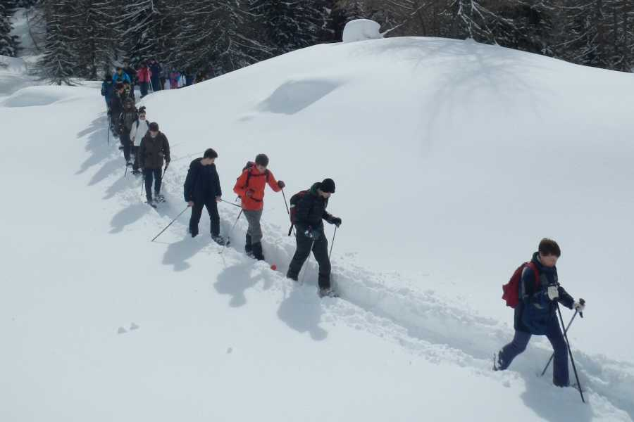 TRAVELSPORT Outdoor Activities Ciaspolare al Rifugio Città di Fiume