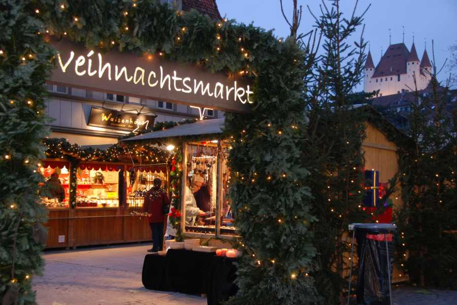 Interlaken Tourismus Stadtführung: Adventsbummel in Thun (deutsch)