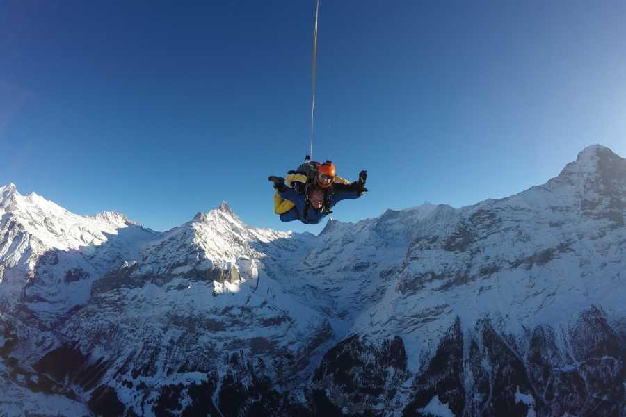 tandem-flights Helikopter Tandem Skydive EIGER