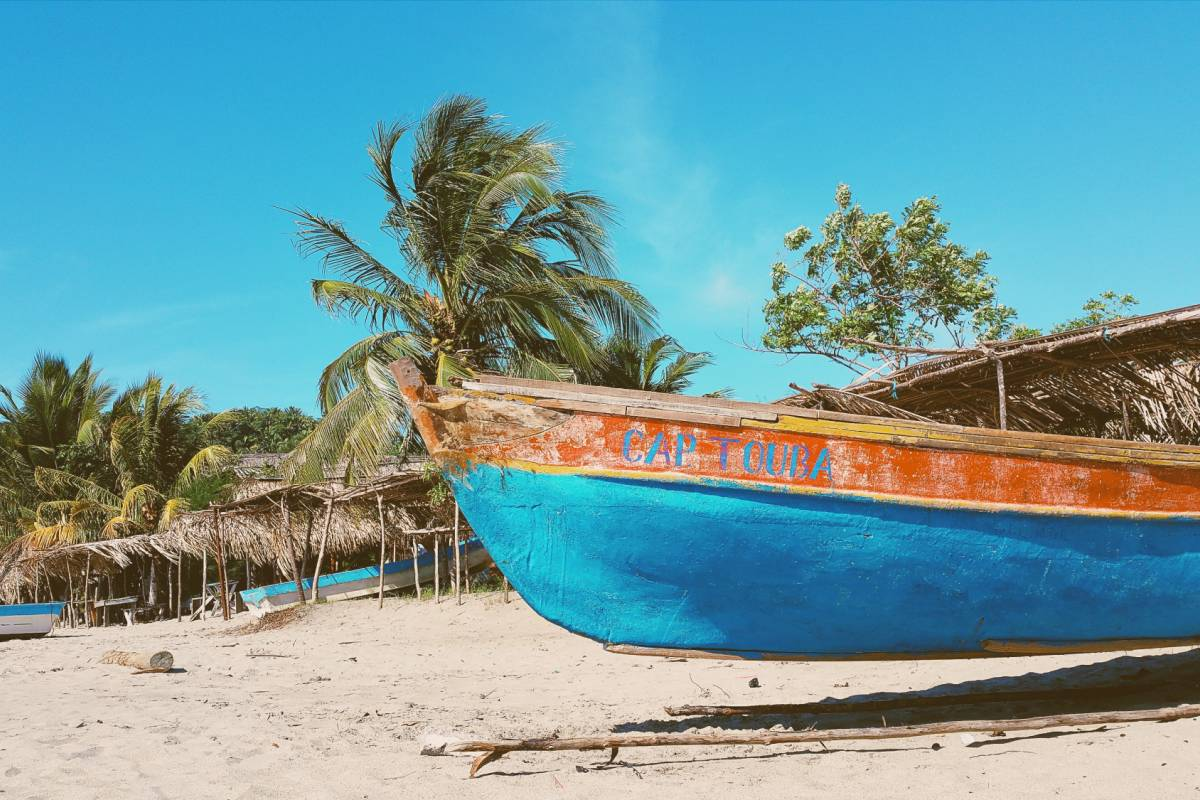 Maybe Sailing The Leeward Islands