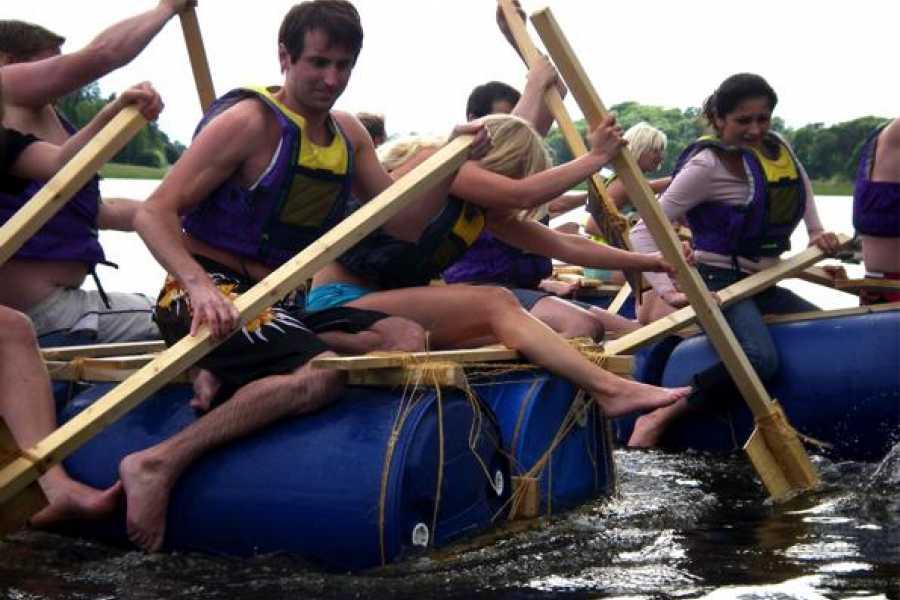 Puls Camp Åre Raft bulding