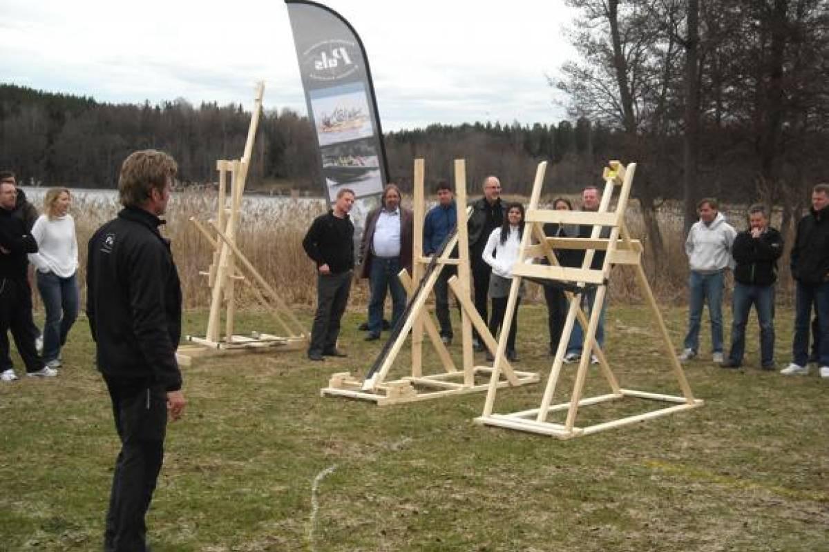 Puls Camp Åre Katapultbygge