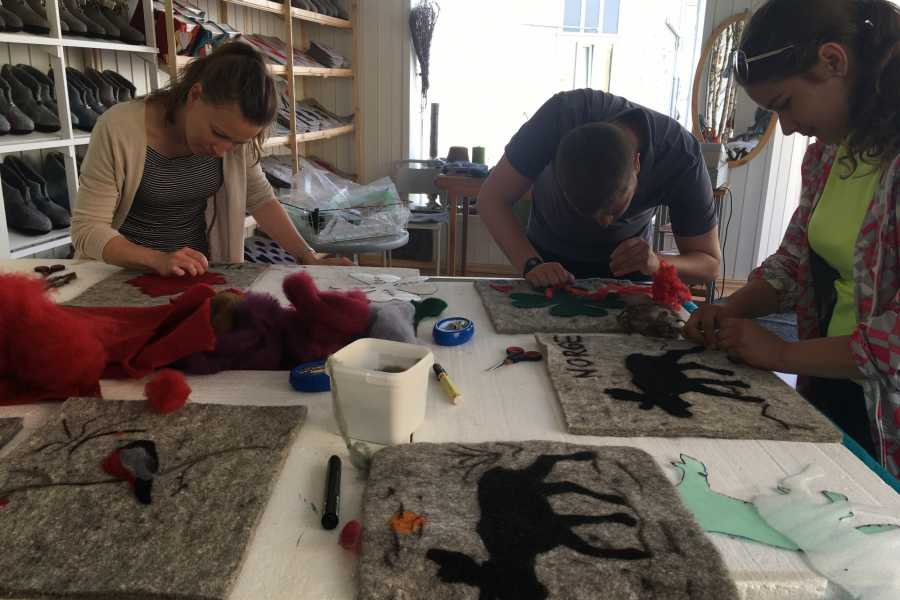 Magma Geopark Wool workshop
