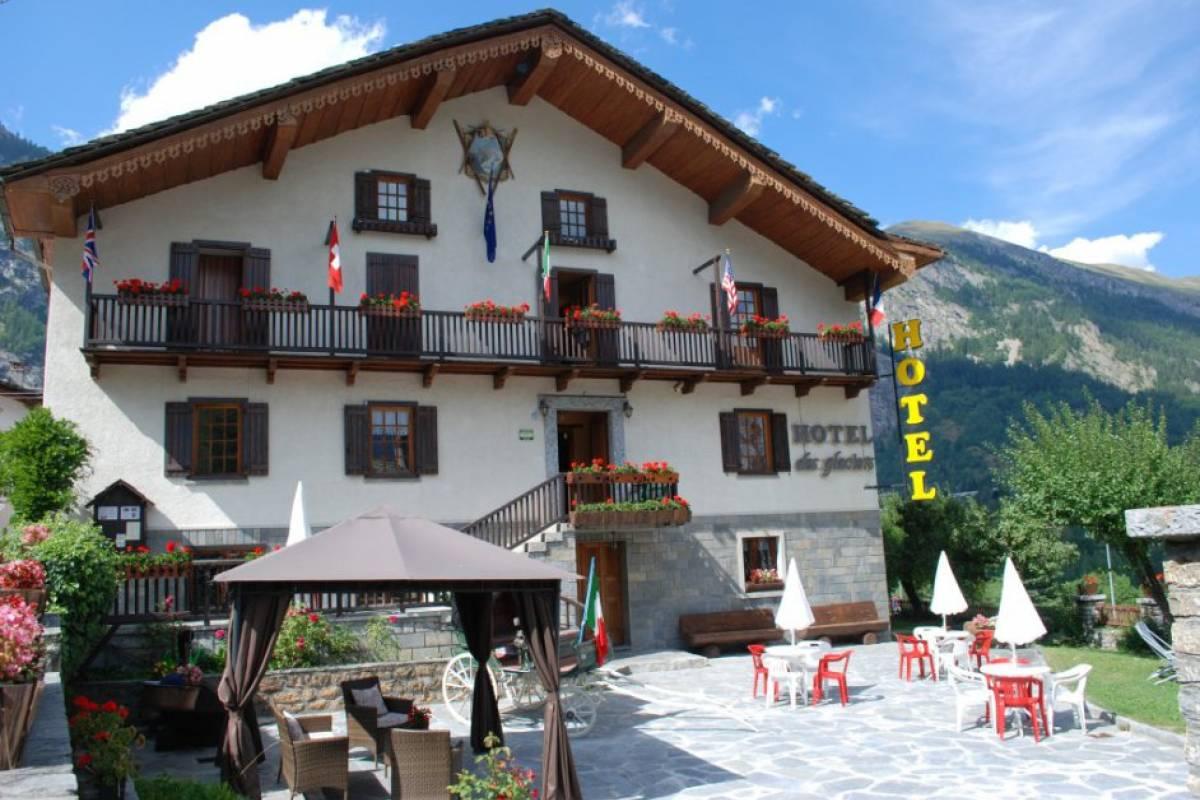 Rafting.it Hotel des Glaciers***