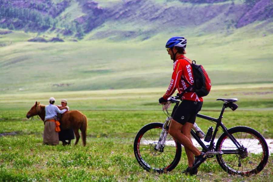 The Great Mongolian Adventures Khangai Mountain Biking 16 Days